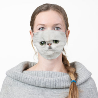 Scottish Fold Cat Noise and Mouth Adult Cloth Face Mask