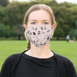 Scottish Fold Cats Adult Cloth Face Mask