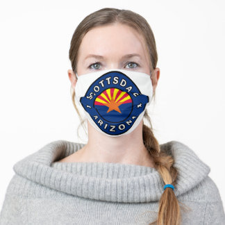 Scottsdale Arizona Adult Cloth Face Mask