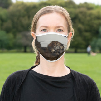 SCWT puppy Adult Cloth Face Mask