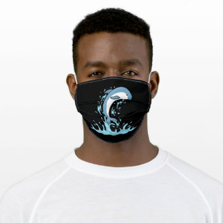 Sea Animals Dolphins lover Adult Cloth Face Mask