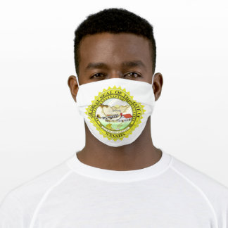 Seal of Nevada Flags of the World Adult Cloth Face Mask