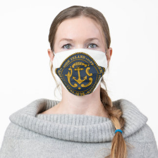 Seal of Rhode Island Adult Cloth Face Mask