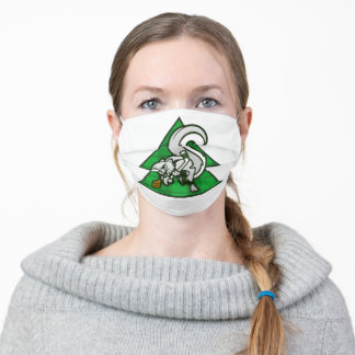 """""""Seattle Evergreens Squirrel"""" Cloth Face Mask"""