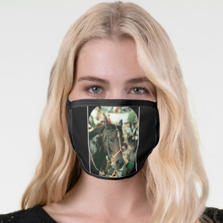 Seattle Slew Thoroughbred 1978 Face Mask