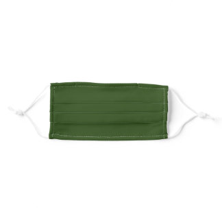 Seaweed (solid color)  Adult Cloth Face Mask
