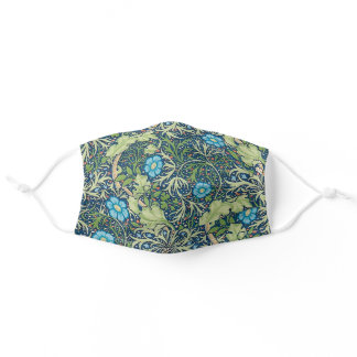 Seaweed, William Morris Adult Cloth Face Mask