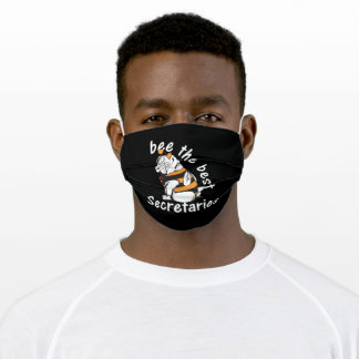 Secretaries gift for pug Lover Adult Cloth Face Mask