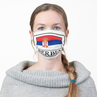 Serbia Adult Cloth Face Mask