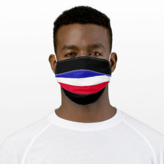 Serbia and Montenegro Adult Cloth Face Mask