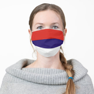 Serbia country flag symbol nation cloth face mask