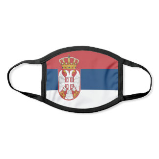 Serbia Flag Face Mask