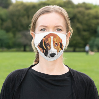 Serious Face Adult Cloth Face Mask