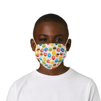 Sesame Street Circle Character Pattern Kids' Cloth Face Mask