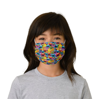 Sesame Street Crew Pattern Kids' Cloth Face Mask