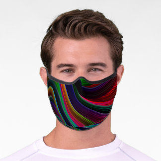 Shades of the Rainbow Premium Face Mask