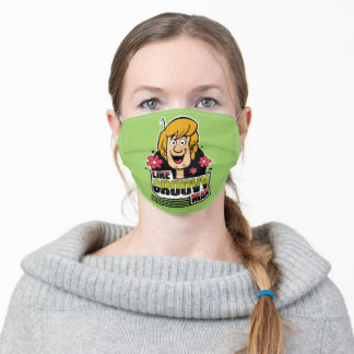 "Shaggy ""Like Groovy Man"" Graphic Adult Cloth Face Mask"