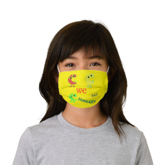 Silly Monsters Cloth Face Mask with Filter Slot