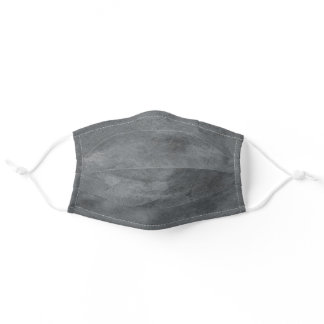 Simple Minimal Gray Texture for Him Men Adult Cloth Face Mask