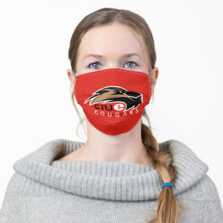SIUe Cougars Logo Adult Cloth Face Mask