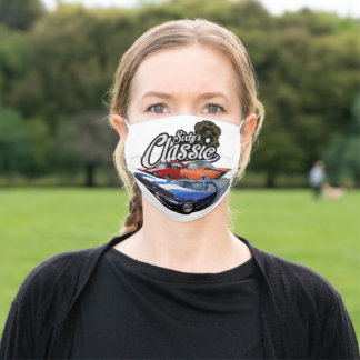 Sixties Classic Muscle Adult Cloth Face Mask