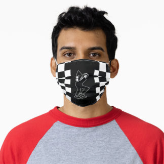 SKA Music Genre  Polyester fabric Mask Filter Slot