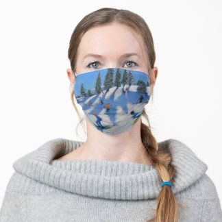 Skiers Lofer 2010 Adult Cloth Face Mask