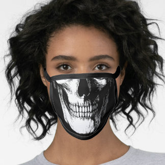 Skull Creepy Gothic Halloween Face Mask