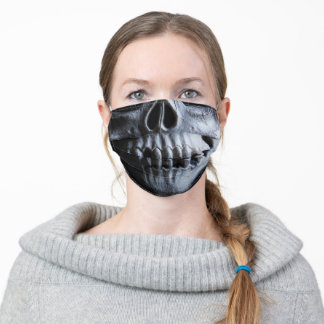 Skull Face Adult Cloth Face Mask