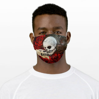 Skull Lovers Adult Cloth Face Mask