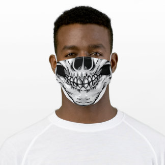 Skull Mouth Adult Cloth Face Mask