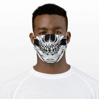 Skull Mouth Cloth Face Mask