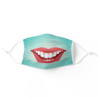 Smile Adult Cloth Face Mask