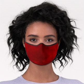 Smoky Red Premium Face Mask