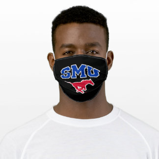 SMU Mustangs Adult Cloth Face Mask