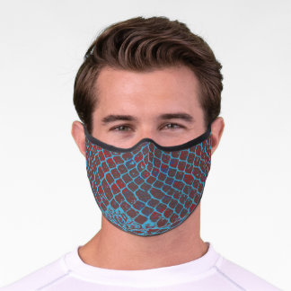 Snake Scales Premium Face Mask