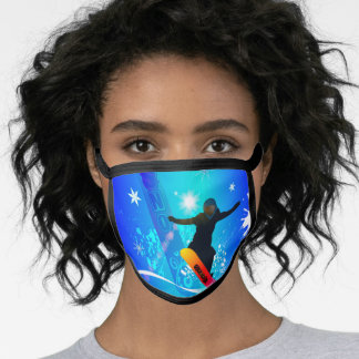 Snowboarder Face Mask