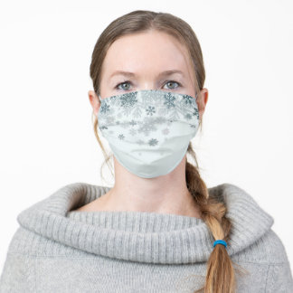 Snowflake face mask