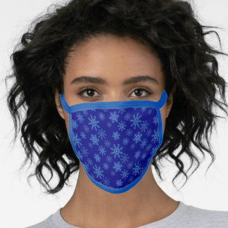 Snowflakes All-Over Print Face Mask