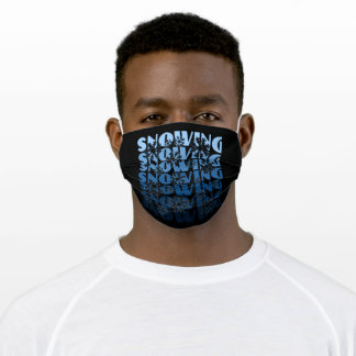 Snowing Adult Cloth Face Mask