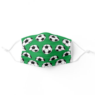 Soccer Ball Adult Cloth Face Mask