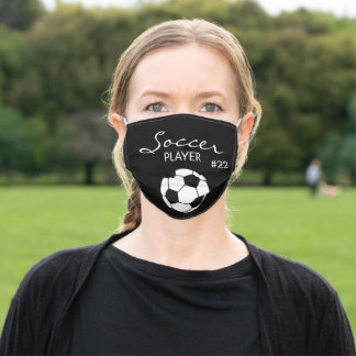 Soccer Ball Face Mask