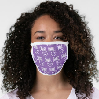 Soccer Player Mom Coach Face Mask
