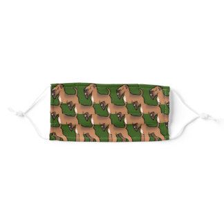 soft coated wheaten terrier adult cloth face mask