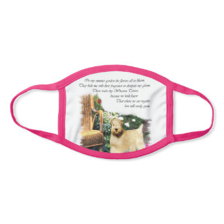 Soft Coated Wheaten Terrier Face Mask
