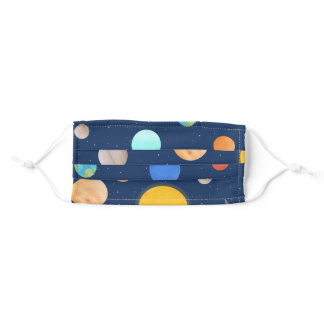Solar System Adult Cloth Face Mask