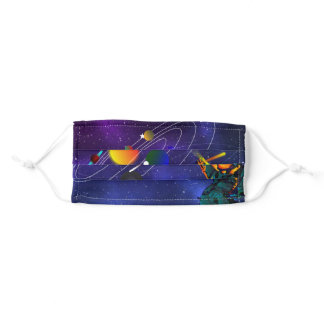 Solar System Planets Adult Cloth Face Mask