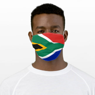 South Africa Adult Cloth Face Mask