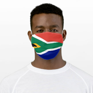 South African Flag Adult Cloth Face Mask