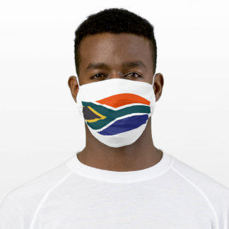 South African Flag Cloth Face Mask